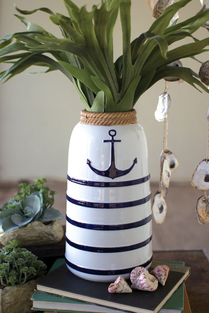 Ceramic Anchor Vase
