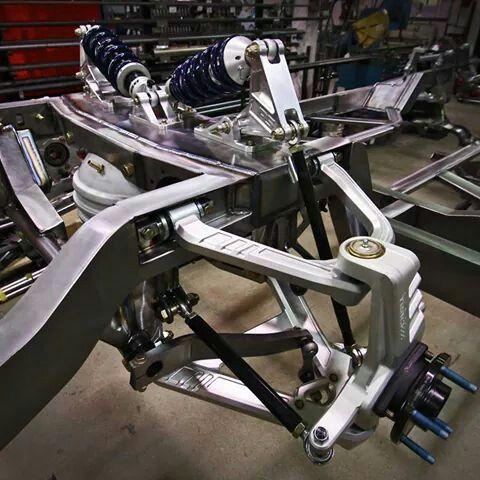 roadster shop fast track elite series mustang suspension setup