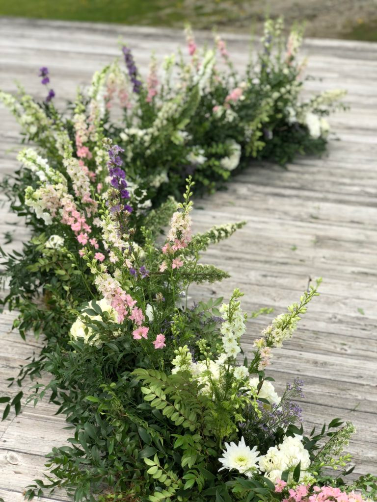 Ceremony At Trapp Family Lodge Stowe Vermont Design By Floral
