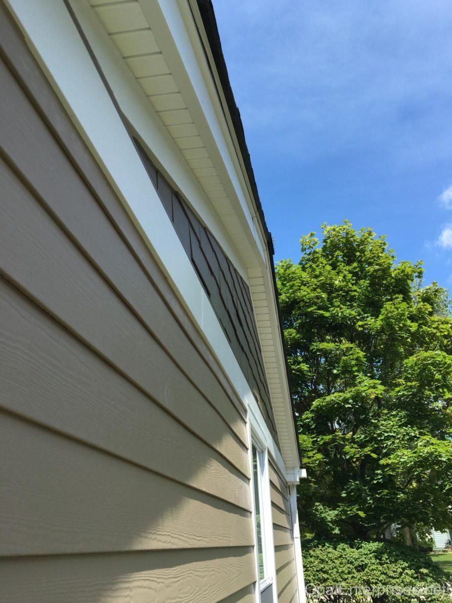 After Photos Of Naperville Siding Roof Replacement Project By Opal Enterprises Exterior Siding Exterior House Renovation Exterior Renovation