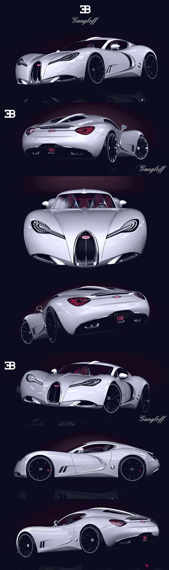 Photo of #Laxary laxary.de/… BUGATTI GANGLOFF CONCEPT CAR  INVISIUM Bugatti Bugatti Gan…