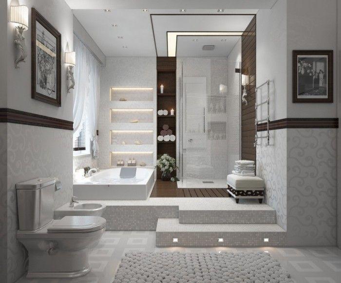 Un spa à la maison- salles de bain moderne façon spa | Salles de ...