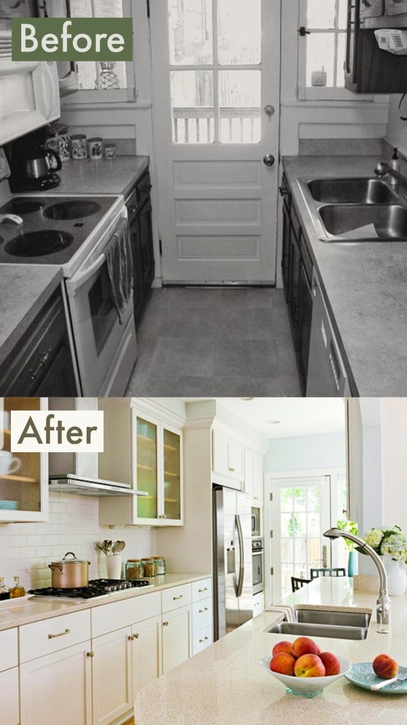 Galley Kitchen Remodel Before And After Ideas 2019 Trends ...