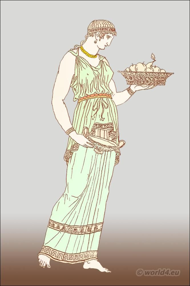 The Roman Tunica Or Greek Chiton Greco Roman Clothing