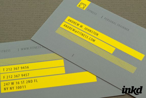 Personal Trainer Business Card by inkddesign | PT logo | Pinterest ...