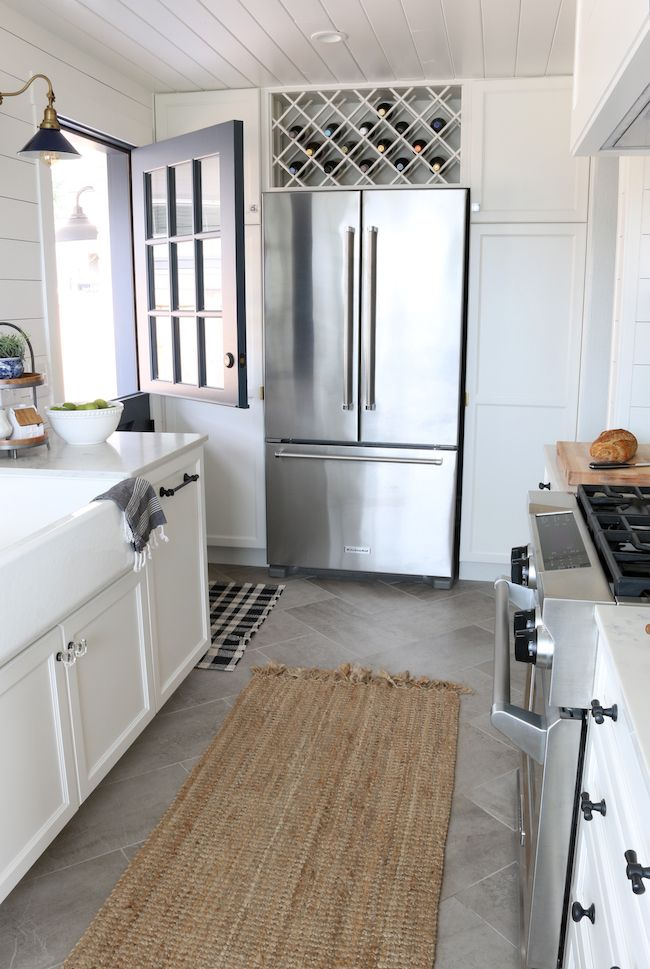 This small kitchen remodel reveal by The