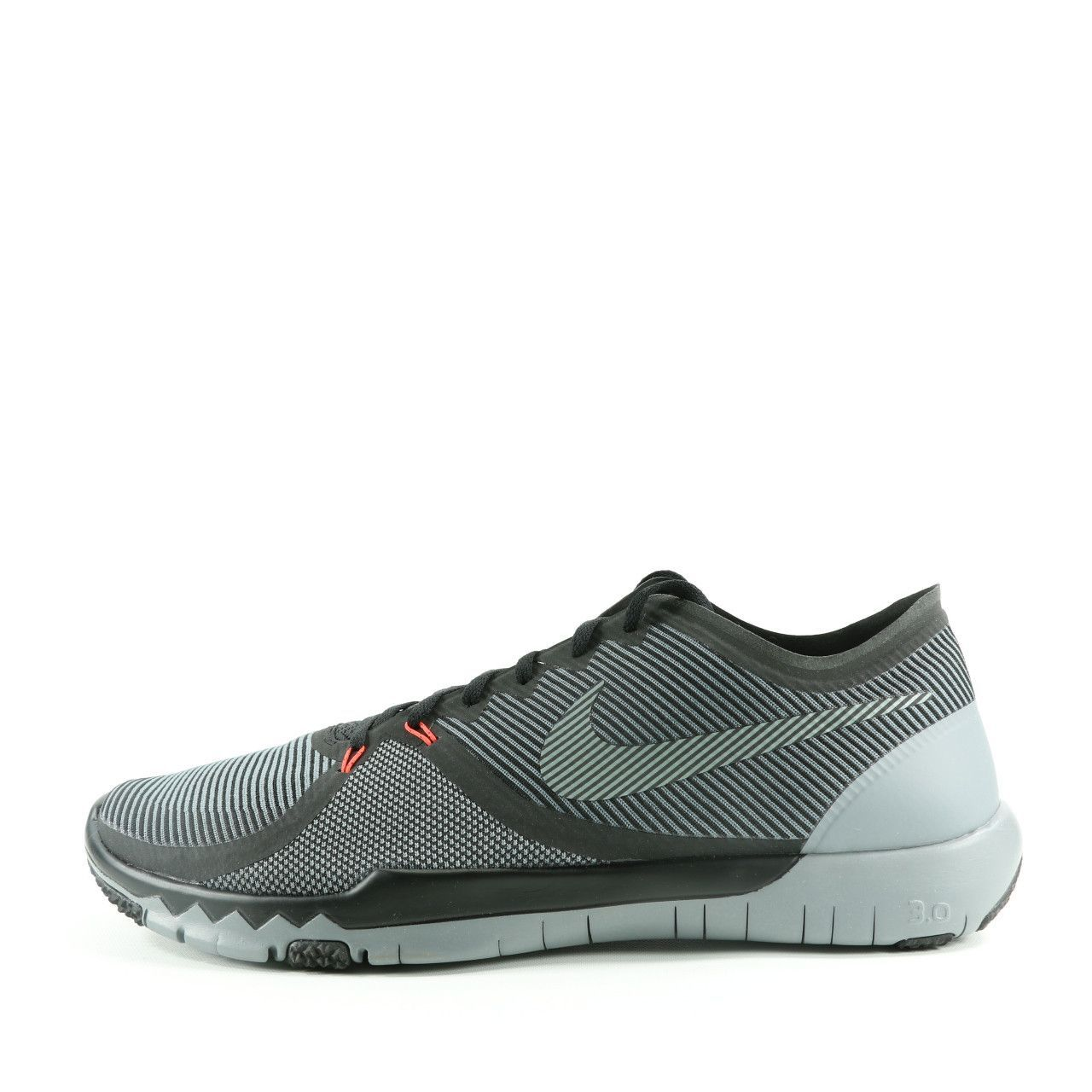 new style 23295 40244 ... buy nike free trainer 3.0 v4 striped running shoes black cool grey  schwarze laufschuhe 2ca73 7e0ac