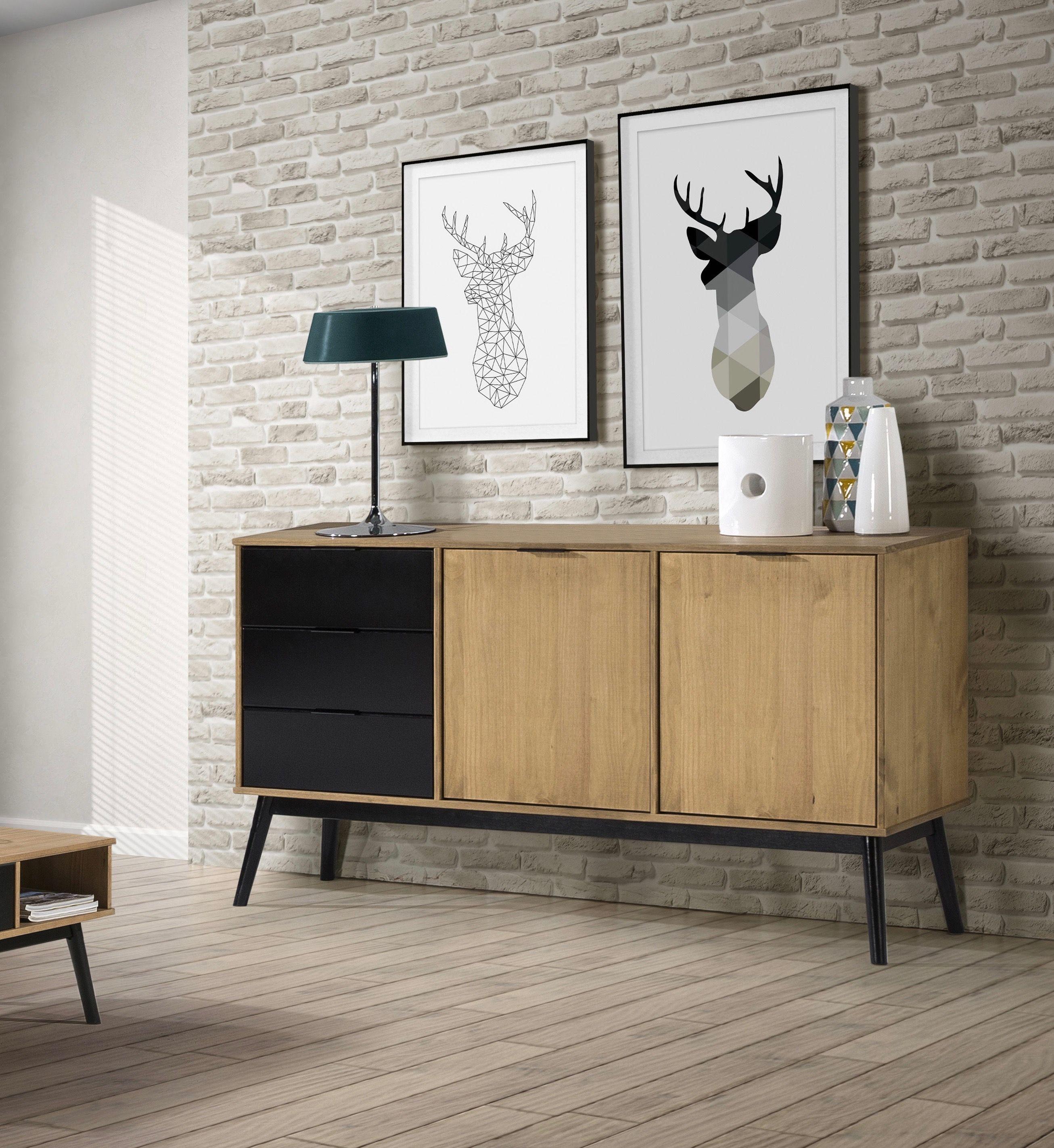 buffet meuble mobilier de salon scandinave