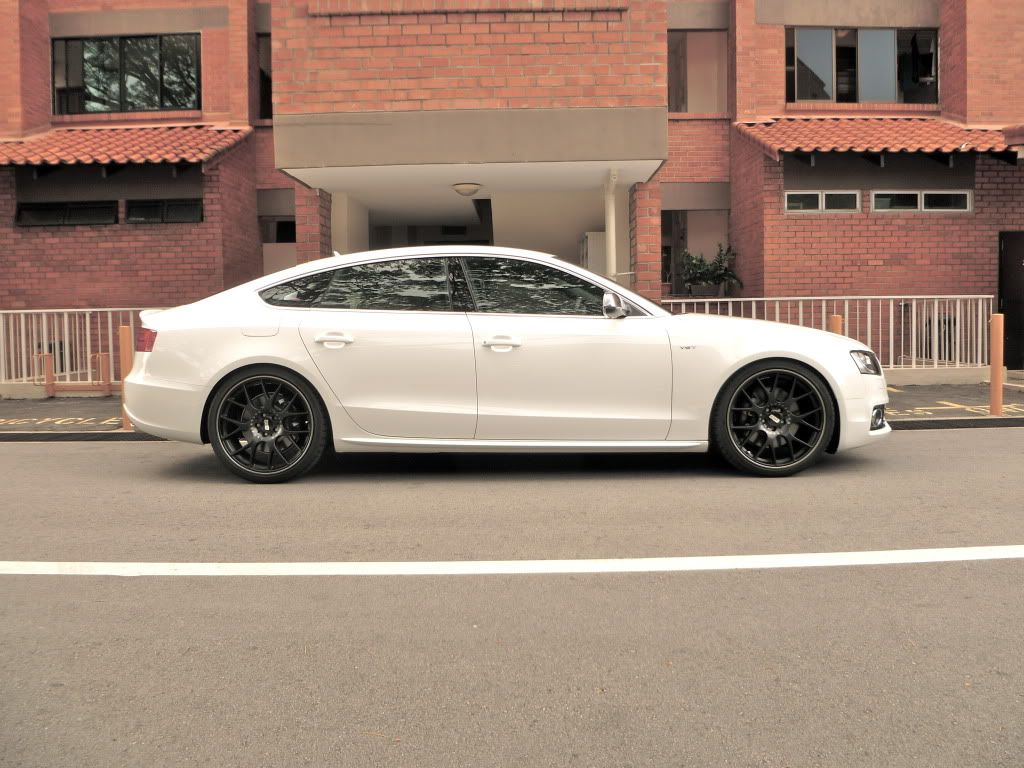 Audi A5 wheels white --> black ? - Page 2 - Audi A5 Forum