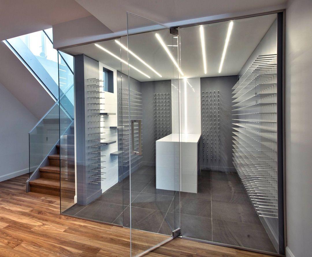 custom wine cellars for modern luxury homes - stactcustom