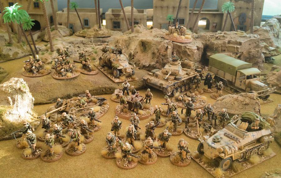 Bolt Action - Afrika Korp platoon ~ WWPD | Bolt Action