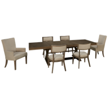 1f5d97b5e2fb Canadel Loft 7 Piece Dining Set in 2019 | Table Setting | Dining ...