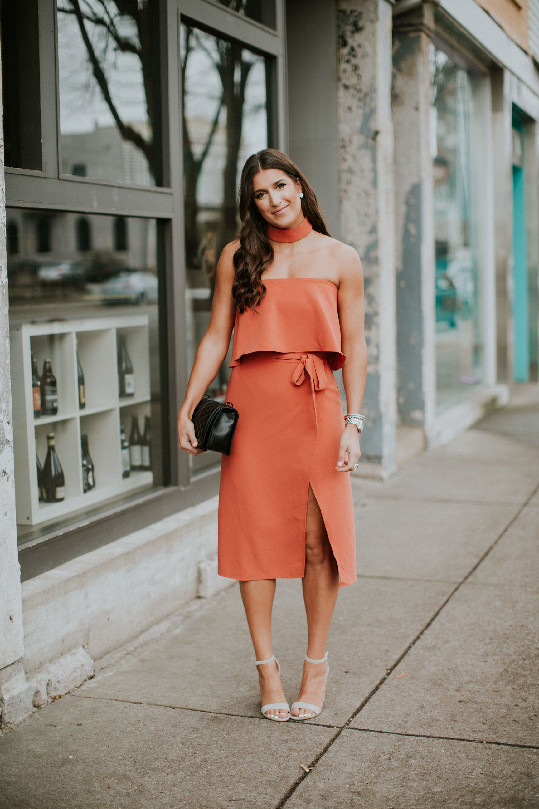Strapless Cocktail Dress A Southern Drawl In 2021 Strapless Cocktail Dresses Dresses Orange Wedding Guest Dresses [ 2592 x 1728 Pixel ]
