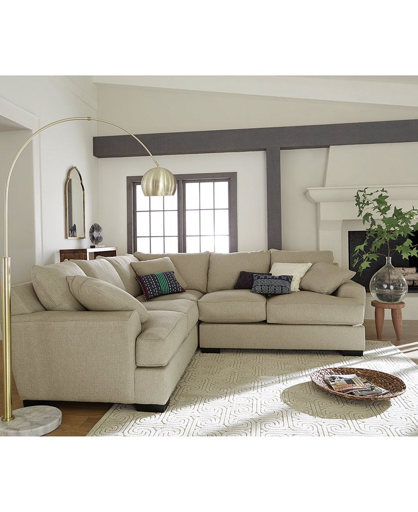 Fantastic Ainsley 2 Piece Sectional With Loveseat 6 Toss Pillows Pabps2019 Chair Design Images Pabps2019Com