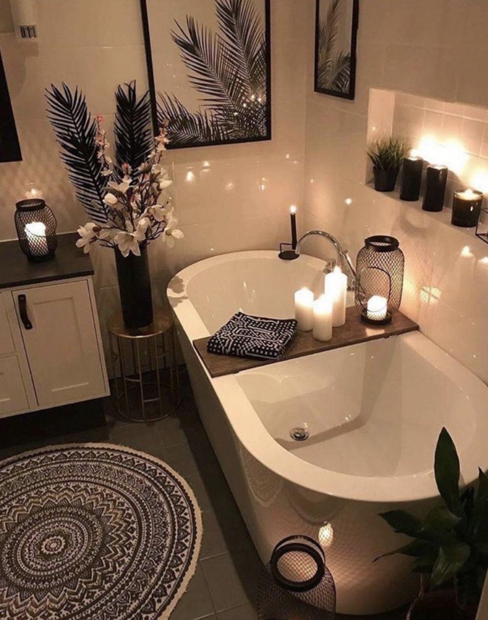 Pin By Natalia Rausch On Bathroom Ideas In 2020 Bathtub Design Home Interior Design Cozy Bathroom