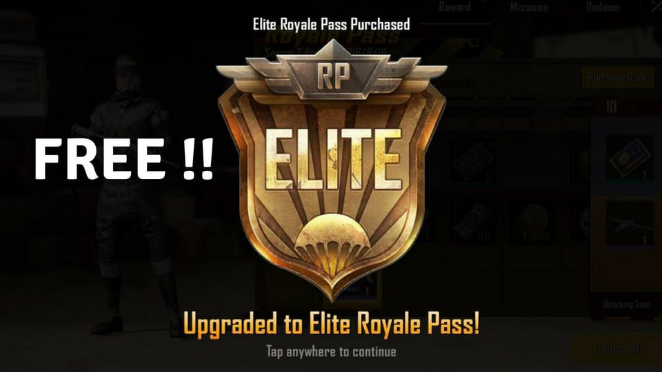 How to Get Free Elite Royal Pass in PUBG Mobile - Earn Free UC Cash