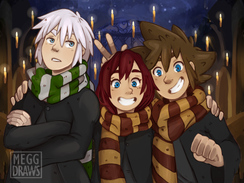 Well, I think Riku would be a good Ravenclaw es well...