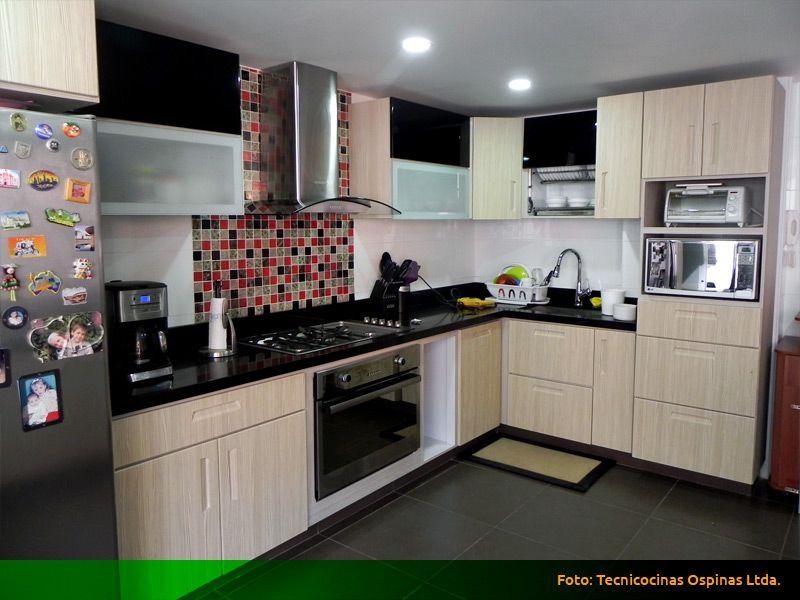 Modernas Cocinas Integrales Fabricadas En Termolaminado Cocinas Integrales Cocinas Cocinas Modernas