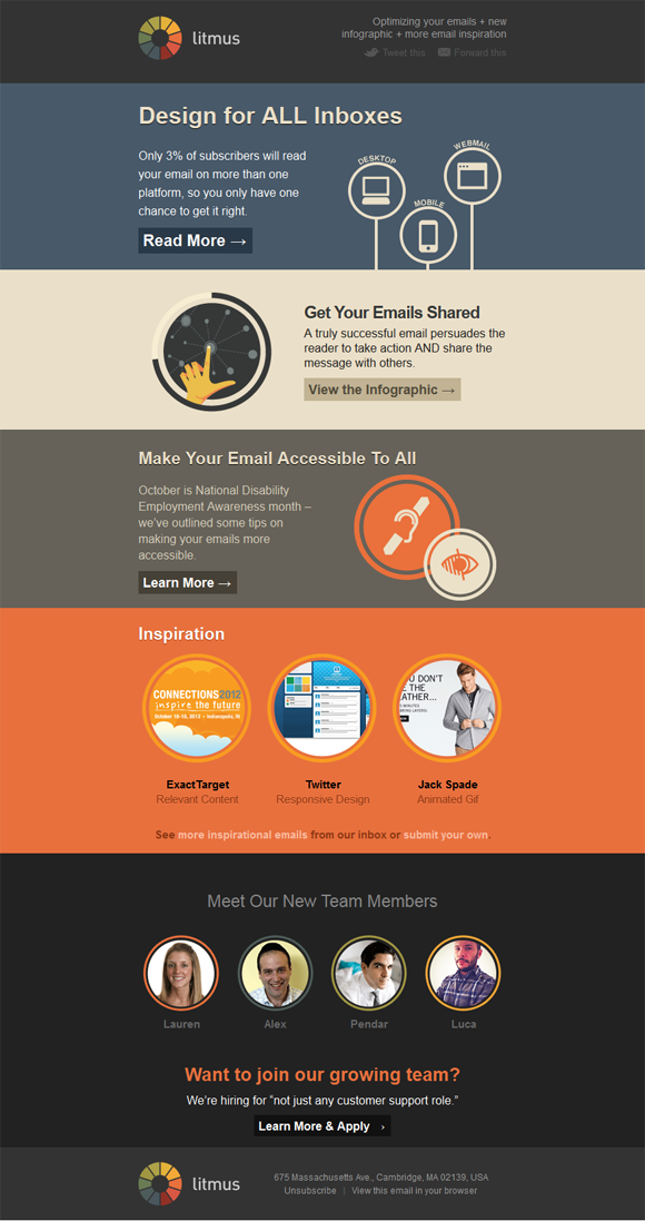 Get Inspired By These Fantastic Email Newsletter Examples From