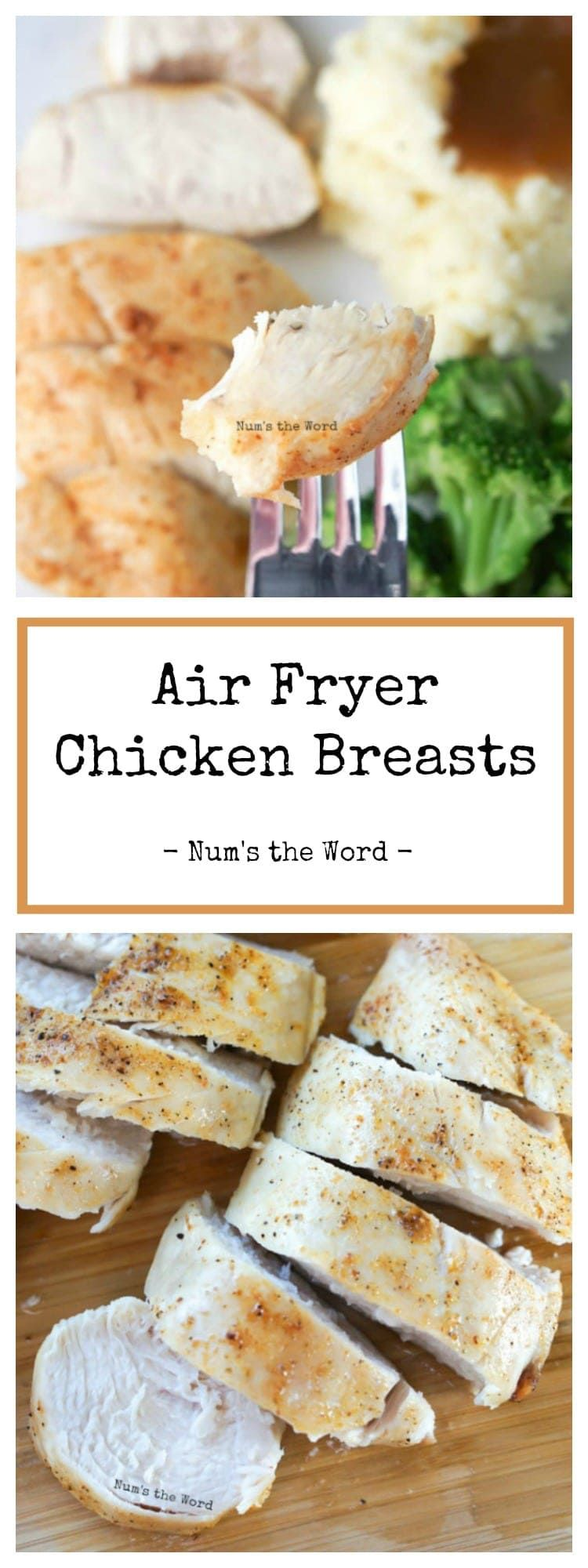 Air fryer chicken breasts can be seasoned with your