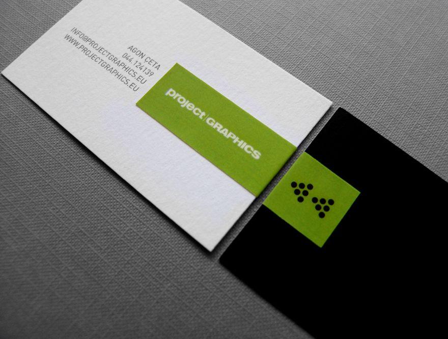 Project Graphics - Business Card Design Inspiration | Card Nerd ...