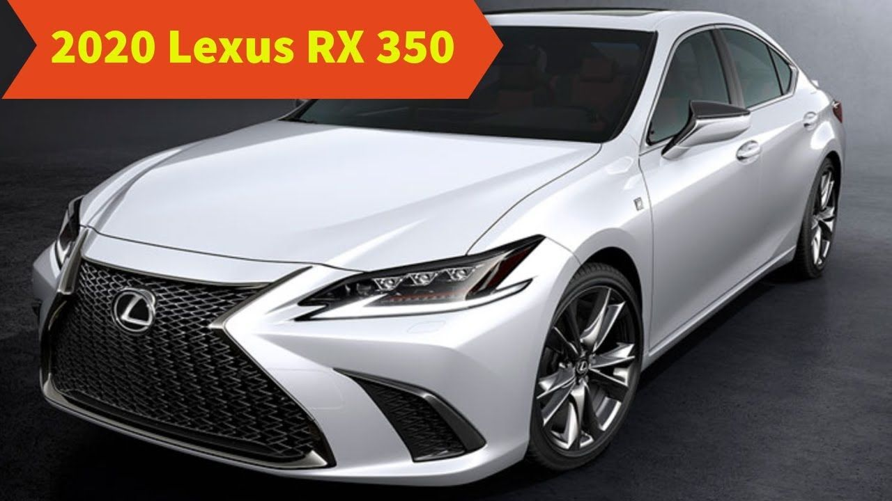 lexus rx 350 year 2020 connect release date in 2020