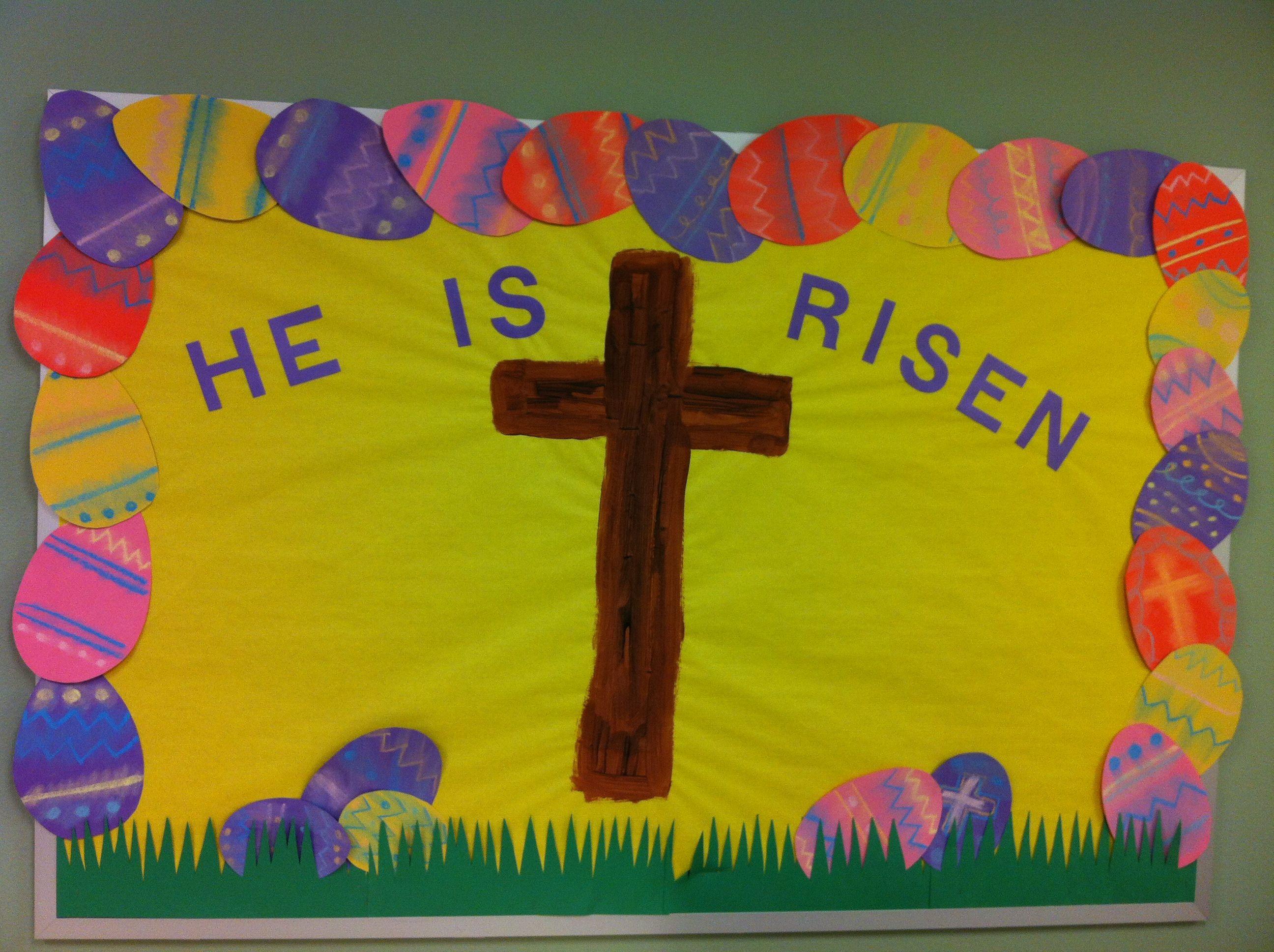 Preschool Easter Bulletin Board