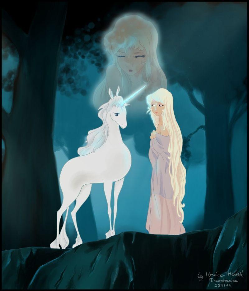 das letzte einhorn  einhorn kunst last unicorn das