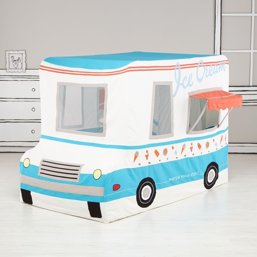 Freezy Dream Ice Cream Truck Tent by The Land of Nod  sc 1 st  Pinterest & Itu0027s always playtime in Land of Nod playhouses teepees and tents ...