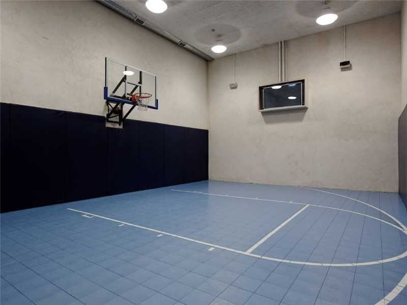 Pin By Coldwell Banker On Exciting Entertainment Rooms Indoor Basketball Court Indoor Basketball Ucla Basketball
