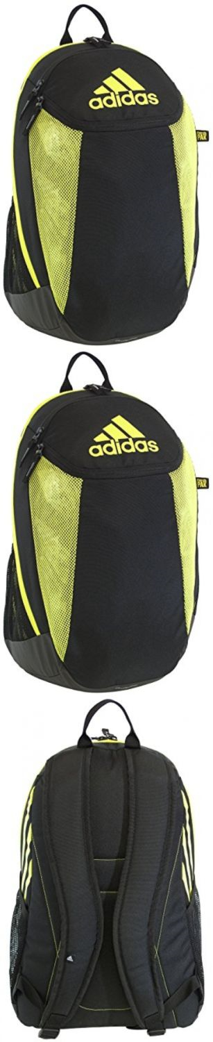 Other Soccer Clothing and Accs 159179: Adidas Condivo Team Backpack Black/Semi Solar Yellow One Size BUY IT NOW ONLY: $40.14