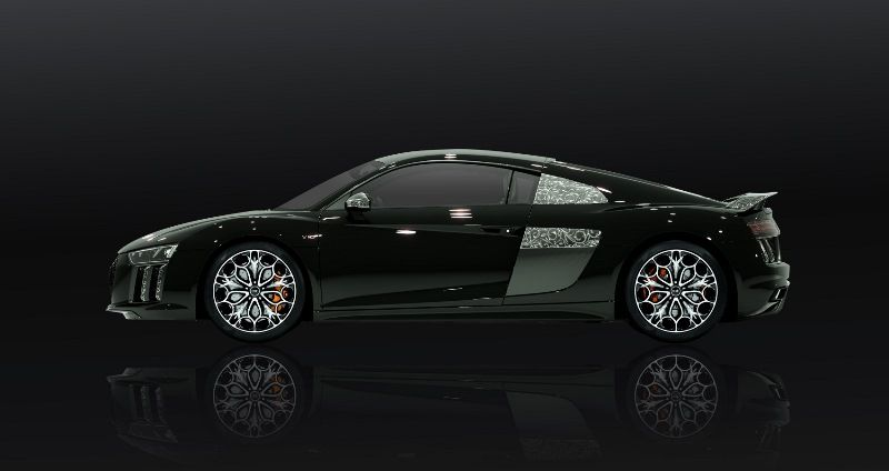 Earlier Today We Posted About The Star Of Lucis Audi R8 Created For Final Fantasy Xv S Feature Film Kingsglaive Back Then We Did Audi Final Fantasy Audi R8