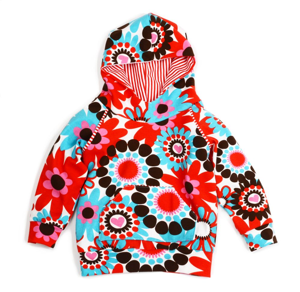 Free hoodie sewing pattern! Babykleding patronen