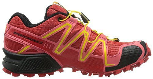 ebf90a913c4e Womens Outdoor Sports Shoes Running Shoes DGOM Speedcross 3 Trail Running  Shoe Radiant RedMadder Pink 41EU   Continue to the product at the image  link.