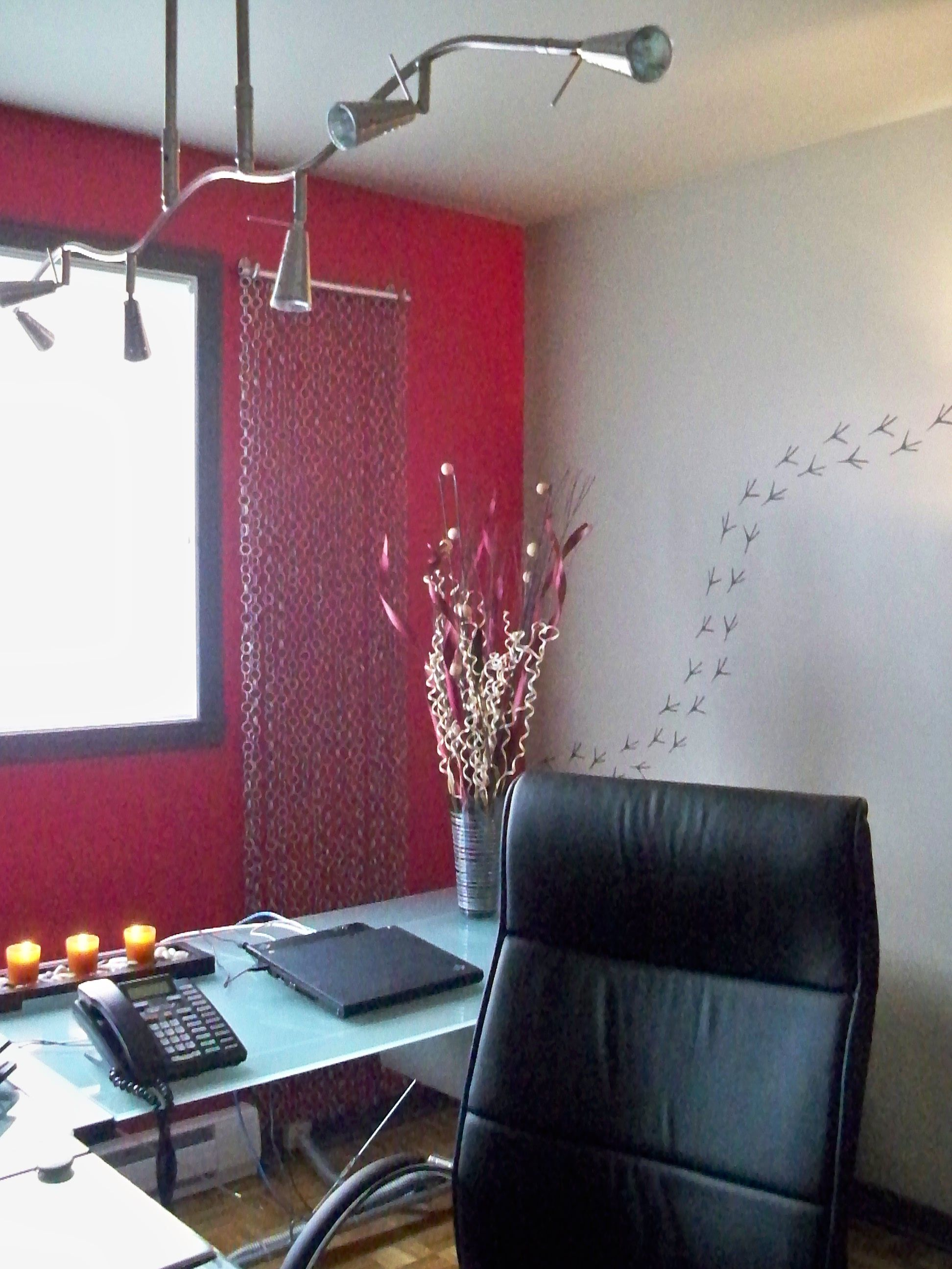 d coration d 39 un bureau domicile 5 essais cr atifs pinterest house. Black Bedroom Furniture Sets. Home Design Ideas