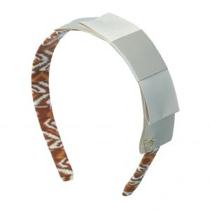 Headband by Sereni & Shentel. Borneo Block Party in Brown. Made in Borneo. Shop here: http://sereniandshentel.com/special-projects/202-borneo-block-party-brown.html $20