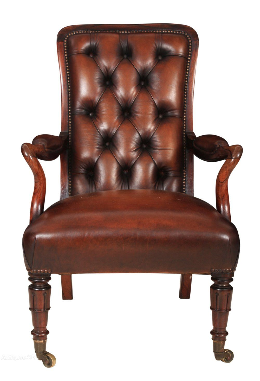 Solid Rosewood William Iv Leather