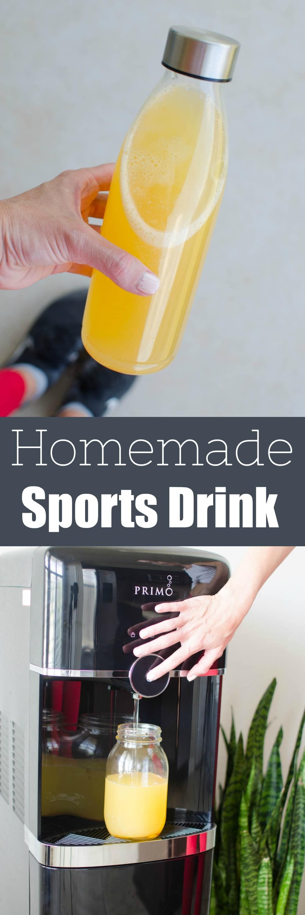 Homemade Sports Drink skip the storebought (and the