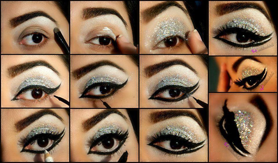 ... step guideline pak stani eye makeup ...