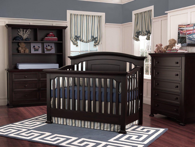 Medford Crib In Espresso From Munire Baby Furniture