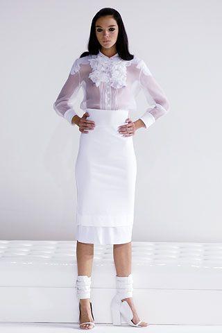 Givenchy - spring 2006 ready-to-wear  Mariacarla Boscono (VIVA)