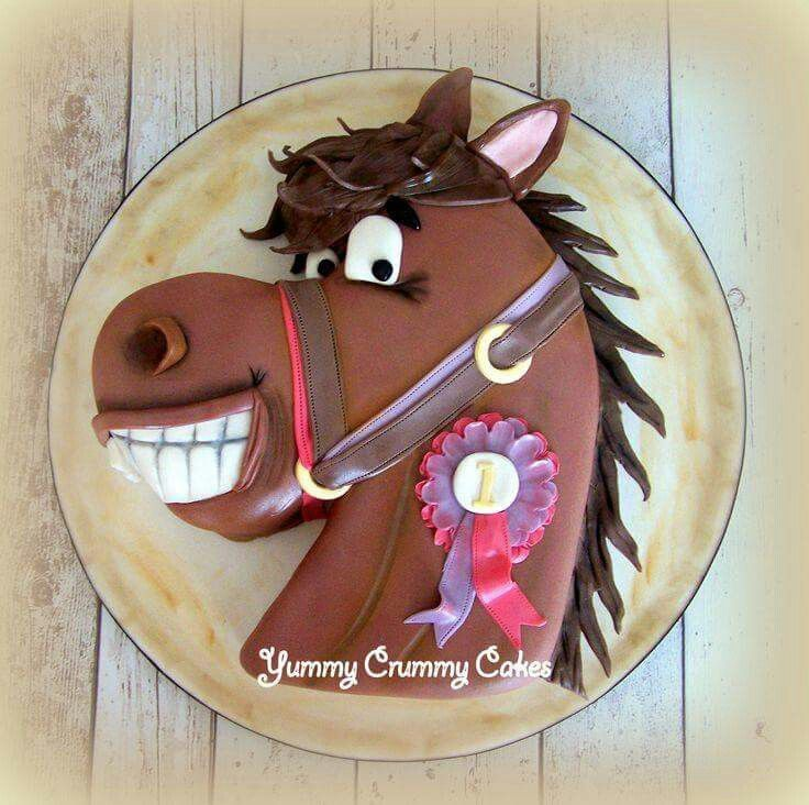 Pin by Noreen Sweeney on horse cakes Pinterest Cake Horse and