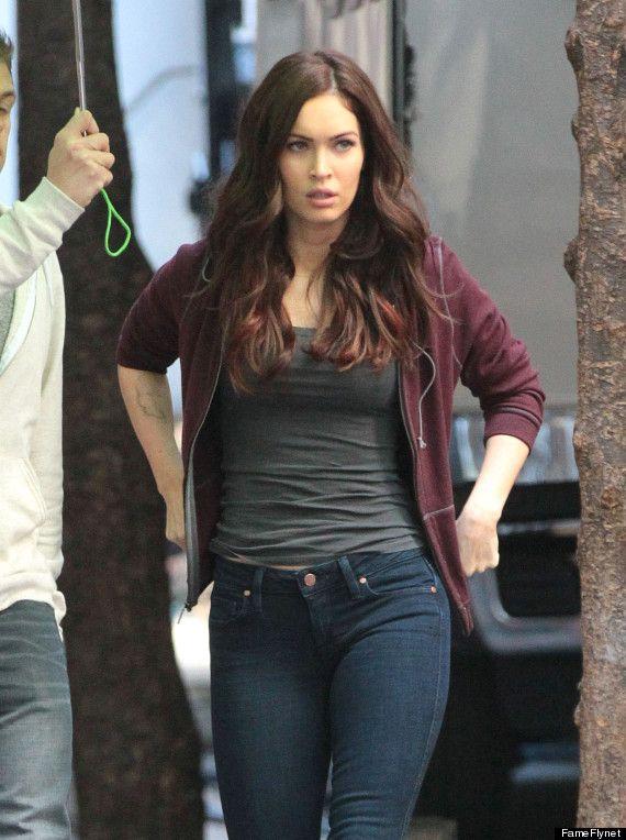 Photo First Look At Megan Fox As April O Neil Megan Fox Photos