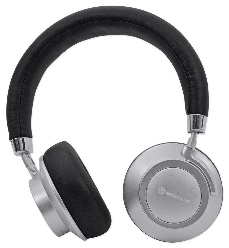 Rockville BTH7 Sleek Bluetooth Headphones /Perfect Sound