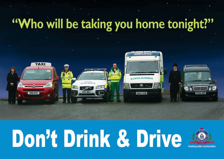 Drink Drive Campaigns Wholl Be Taking You Home Tonight