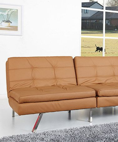 Loving This Tan Memphis Double Cushion Futon Sofa Bed On Zulily Zulilyfinds
