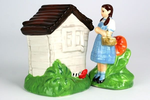 Dorthy and Wicked Witch of the West Legs ~ Salt & Pepper Shakers
