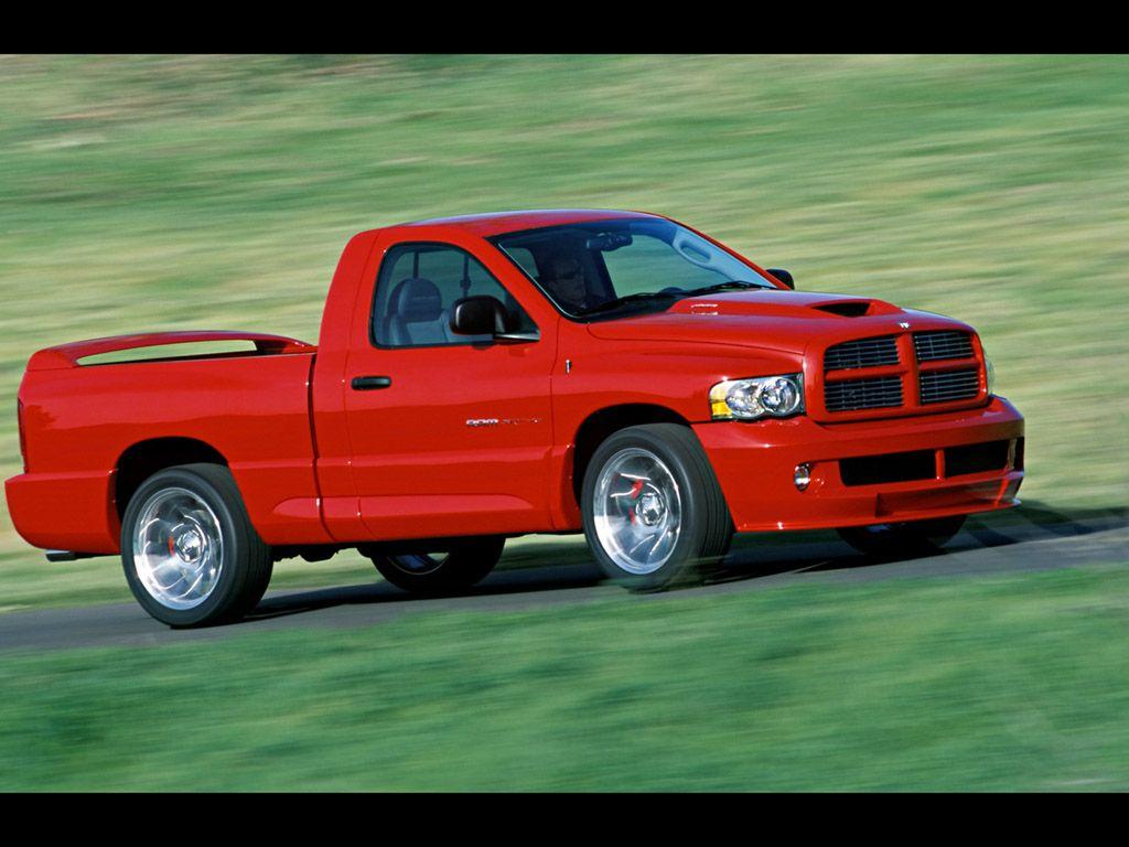 Red Pickup Truck 3 Dodge Ram Srt 10 Ram Srt 10 Dodge Ram