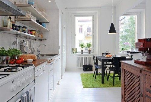 Decoracion cocinas modernas blancas 9 decoracion for Cocinas modernas blancas