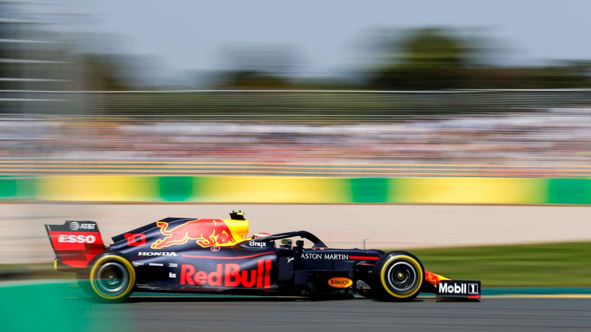 Pierre Gasly, Red Bull Racing RB15 during the Australian